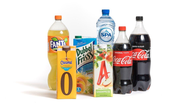 Frisdranken-sappen-water