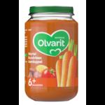 Olvarit Babyvoeding 6+ wortel rundvlees aardappel