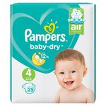 Pampers Baby-dry 4